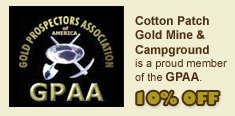 Cotton patch goldmine & campground 3 photos new london, nc -.